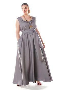 Just beautiful. JIBRI Flowy Sleeveless Spring Maxi Dress