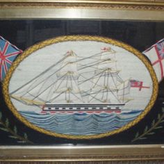 Woollen Ship at the National Maritime Museum Cornwall Maritime Museum, Ship Art, Sailors, Whales, Wool Blanket, Cornwall, Old And New, Baltimore, Folk Art