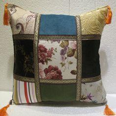 Home decor pillows patchwork cushion cover modern decoration sofa throw mod 94 #Handmade #ArtDecoStyle