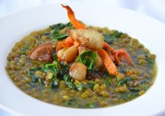 Lucky Lentil Soup | A Recipe for Good Health - Chef Franco Lania