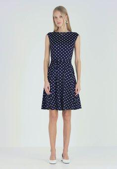 Stockh lm Citadel dress DOTTED Model front | Klänningar
