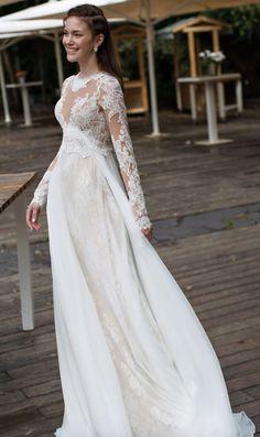Featured Dress: Noya Bridal; Wedding dress idea.