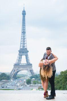 Bring her to Paris. Dance with her. Let the magic happen! #parisphotographer #parisengagement #eiffeltower www.theparisphotographer.com