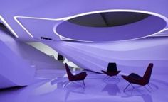 The Boardroom of the Future is Bright, White, And Pretty Tron-Like