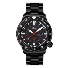 #Sinn #U2 S - Metal Bracelet | Sinn Watches | #Watches | Page And Cooper