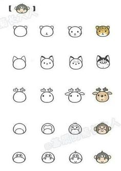 Kolay hayvan figurleri