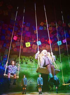 Matilda the Musical (part of it was performed at the Olympic opening ceremony) -The songs from this musical is fab :) Theatre Shows, Theatre Nerds, Broadway Theatre, Musical Theatre, Broadway Shows, Matilda Broadway, Kids Theatre, Musicals Broadway, Musical Tickets