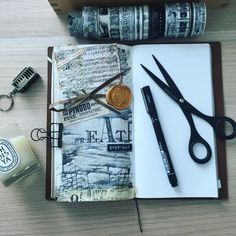 I may not sit down and journal daily but I do try to embrace a creative lifestyle. Be it in the kitchen, craft room or in front of the tv with a strand of yarn intertwined between my fingers. . . #travelersnotebook #travelersnote #midoritravelersnotebook #travelerscompany #washitape #stationery #stationeryaddict #toolstoliveby #mixedmedia #artjournal #planneraddict #planneraddictmalaysia #loveforanalogue