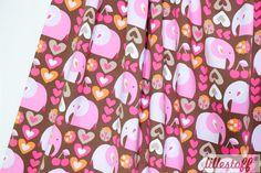 lillestoff » GirliElephant « // Design: enemenemeins // hier erhältlich: http://www.lillestoff.com/girli-elephant-1994.html
