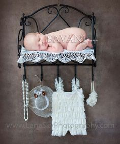 Baby lace outfit IVORY petti romper newborn photo by SAVANIcouture, $16.99