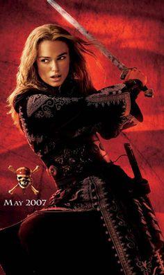 Pirates of the Caribbean, Elizabeth