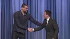 MEMPHIS, TN (WMC)  Action News 5 is sending out a High 5 to Memphis Grizzlies' Marc Gasol.He is in New York City making franchise history, by starting in the NBA All-Star Game Sunday, but not before making his comedy debut on The Tonight Show with Jimmy Fallon.