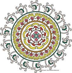 Suzani Pattern to Stitch: Suzani Pattern to Stitch