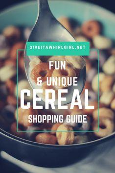 Fun & Unique Cereal