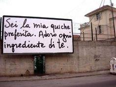 Frasi d'amore per le strade di Asti (Foto) | Nanopress
