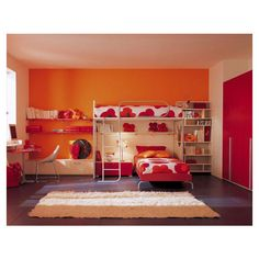 Beautiful Teen Girl Bedroom Design Ideas for Twin Girl ❤ liked on Polyvore