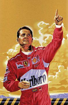 """Michael Schumacher"" #KeepFightingMichael"