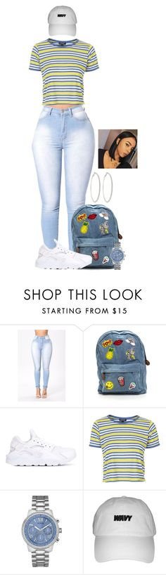 A fashion look from December 2016 featuring tee-shirt, nike trainers and zipper bag. Browse and shop related looks. Lit Outfits, Teen Girl Outfits, Outfits For Teens, Sexy Outfits, Winter Outfits, Summer Outfits, Fashion Outfits, Work Outfits, Teen Fashion