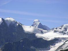 The Matterhorn as seen from above Zinal, Switzerland