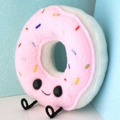 Happy Donut Plush #handmade
