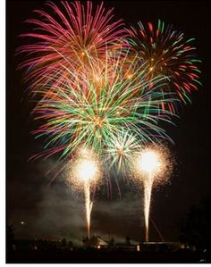 I miss the 4th of July fireworks......