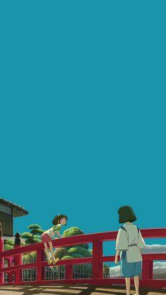 Movies Wallpaper for iPhone from Uploaded by user Studio ghibli,spirited away,hayao miyazaki Movie Wallpapers, Animes Wallpapers, Cute Wallpapers, Studio Ghibli Art, Studio Ghibli Movies, Film Anime, Anime Art, Personajes Studio Ghibli, Spirited Away Wallpaper