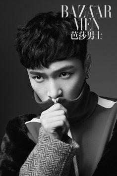 EXO's Lay is a classy, refined gentleman on the cover of 'Bazaar Men'   allkpop.com