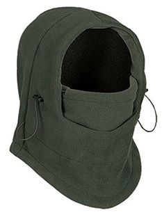 6437e79e6d4 Winter Outdoor Sport Multi Function Balaclava Full Face Mask Cover (Olive).  One size