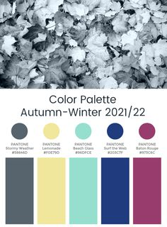 "Trend Color Palette Autumn-Winter 2021/22 ""Dynamo"" #color #trends"