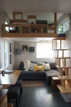 happy modern tiny house