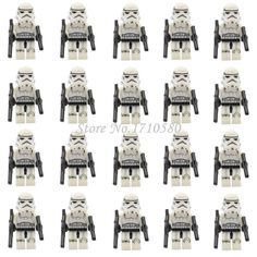 Star Wars Minifigures 20pcs/lot Clone Trooper Stormtrooper Darth Vader Yoda Obi Republic Solider Building Blocks Toys #>=#>=#>=#>=#> Click on the pin to check out discount price, color, size, shipping, etc. Save and like it!