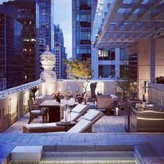 terrace - NYC apartment