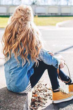 4 cute hairstyles for school - Easy Hairstyles Cute Hairstyles For Teens, Cool Haircuts, Girl Hairstyles, Hairstyle Ideas, Summer Hairstyles, Wedding Hairstyles, Black Hairstyles, Easy School Hairstyles, Hairstyles 2018