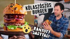 KÓLASZÓSZOS burger chilis camembert sajttal - nem viccelünk! Chilis, Hamburger, Bbq, Make It Yourself, Pizza, Youtube, Barbecue, Barbacoa, Chile