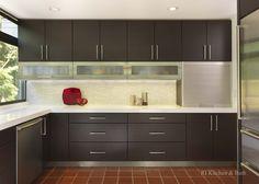 A Modern Kitchen Design by #RIKB . #Modern #Contemporary #Wolf #Hanstone #Ultracraft #Tile #StainlessSteel