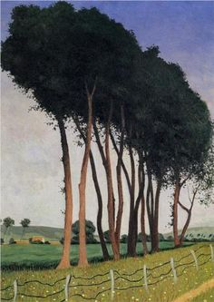 Reproduction Painting Felix Vallotton The Family of Trees, Hand-Painted Reproductions Art Oil On Canvas Landscape Art, Landscape Paintings, Paintings Of Trees, Pierre Bonnard, Magic Realism, Post Impressionism, Paul Gauguin, Arte Floral, Fine Art