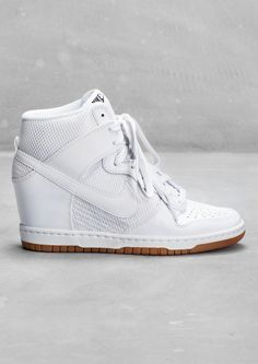 & Other Stories image 1 of Nike Dunk Sky High Mesh in White