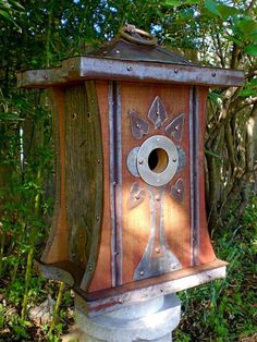 Beautiful Bird House Designs You Will Fall in Love with (5)