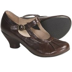 Portlandia Cannon Mary Jane Pumps - Leather (For Women) in Chocolate