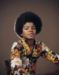 Young Michael Jackson...love the Jackson 5 days and his later stuff!