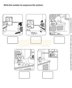 Picture Sequence Worksheet 12 - esl-efl Worksheets - kindergarten Worksheets