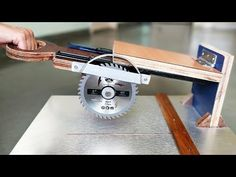 How to Make a Sliding Miter Saw at Home - YouTube