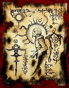SONG of the BLACK STARS Necronomicon Fragment larp Lovecraft monster outsider art