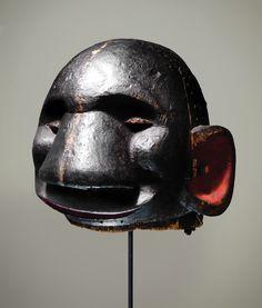 An amazing Nigerian Igbo 'Ogbumadube' helmet mask