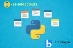#Python is a #programming #language that is gaining a lot of popularity in the industry and amongst its students, because it is easy to learn and quite user-friendly. Make a call us @ +91-9962504283.