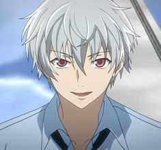 My favorite top 10 white hair hottest Anime boys (^O^)(-^〇^-)