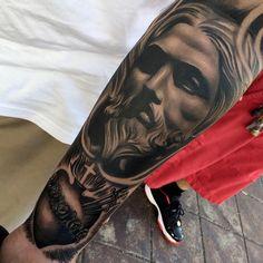 #mulpix Amazing artist Ethan Gozum @ebone.capone awesome Bernini Jesus sacred heart forearm tattoo close up! @art_spotlight @art_motive @inksav @mindblowingtattoos @sullenclothing  @wowtattoo @bnginksociety @worldofartists   #ebonecapone  #jesustattoo  #fresh  #healed   #italian  #inked  #ink  #3d  #tattoos  #tattoo  #sacredheart   #jesus  #bernini   #blackandgrey  #arm  #beautiful  #losangeles  #photorealism   #sacred  #portrait   #socal  #la  #hearttattoo  #heart  #renaissance  #art…