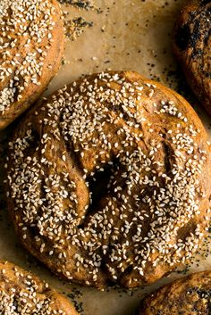 NYT Cooking: When I order a whole wheat bagel in a coffee shop what I get is a white bagel with a little bit of whole wheat flour thrown in. These bagels are different