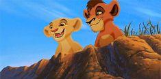 Fan Art of Kiara and Kovu TLK 2 for fans of The Lion King Pride 36821250 Lion King Timon, Lion King Movie, Disney Lion King, Walt Disney, Disney Art, King Gif, Disney Magical World, Kiara And Kovu, Young Simba