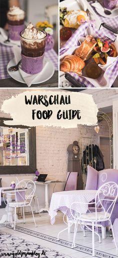Collage mit den besten Restaurants in Warschau